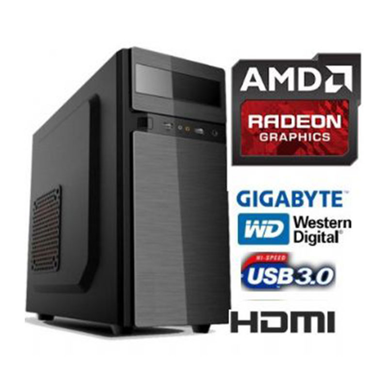 AMD Dual Core E1 6010 - SSD 240gb Ram 4gb
