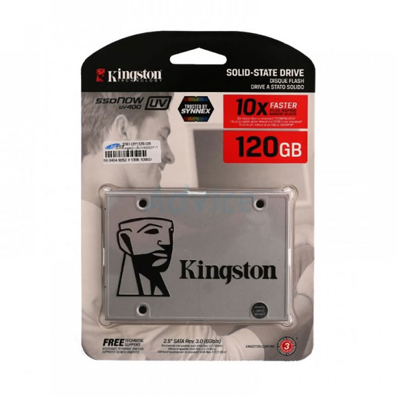 Disco sólido SSD 120GB Kingston