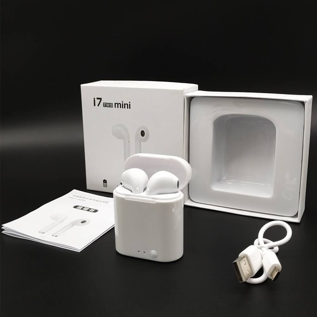 Auriculares Inalámbricos Bluetooth I7 Mini. 5.0