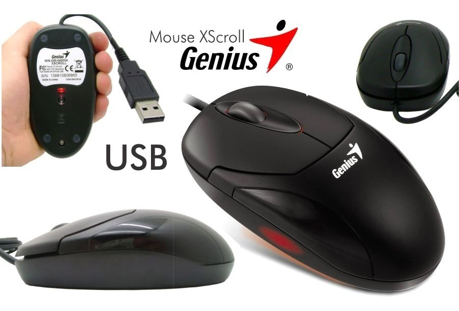 Mouse Genius - X-Scroll - USB