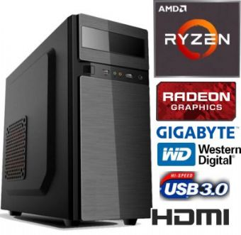 PC - AMD RYZEN 5 3400G -8G-SSD 240GB