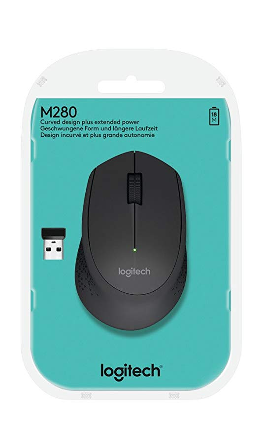 Mouse Inalambrico Logitech M280 Wireless Usb